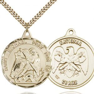 14kt Gold Filled St. Michael Pendant