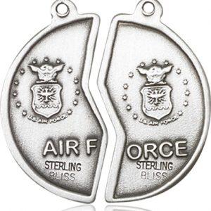 Sterling Silver Miz Pah Coin Pendant