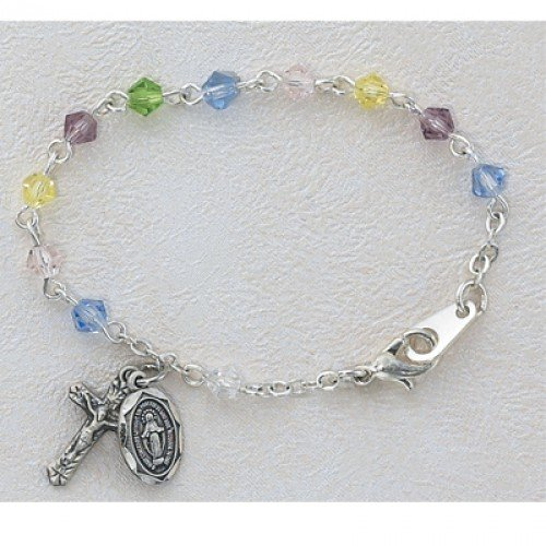 Christening Bracelet with charms
