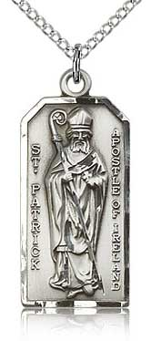A Religious Medal Featuring St Patrick