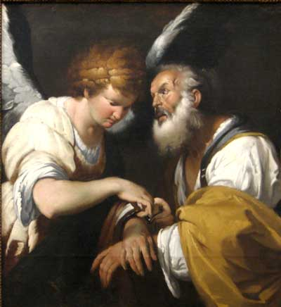 Angel Frees St. Peter from Prison