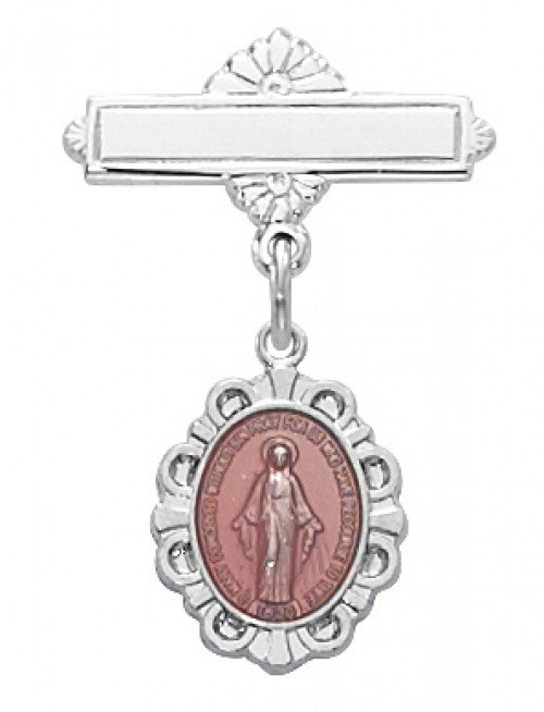 Marian Pin for Baptism