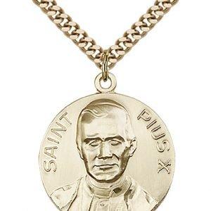Pope Pius X Medal - 81661 Saint Medal