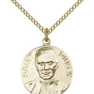 Pope Pius X Medal - 81664 Saint Medal