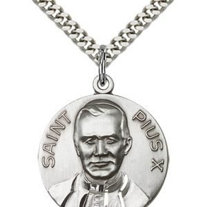 Pope Pius X Medal - 81663 Saint Medal