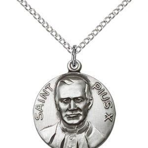 Pope Pius X Medal - 81666 Saint Medal