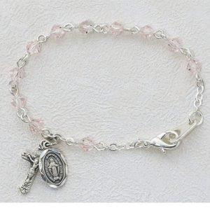 Baptism Rosary Bracelet