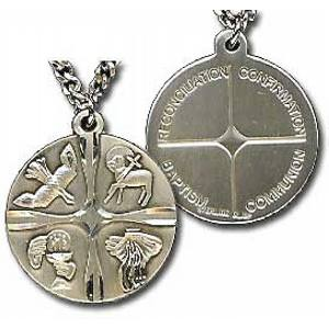 Sacramental Life Medal 18 in Chain