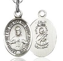 Charm Sized Scapular Medal