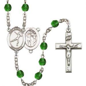 St. Sebastian-Figure Skating Rosary