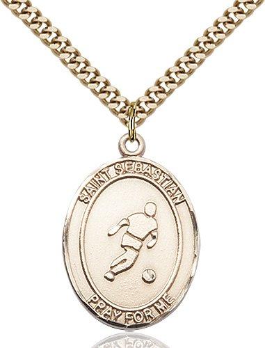 Gold Filled St. Sebastian Pendant
