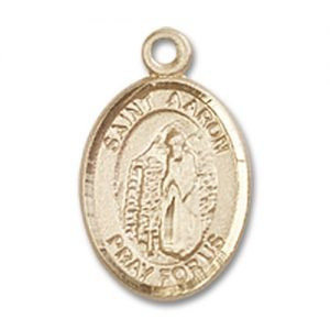 St. Aaron Charm - 14 Karat Gold Filled (#85123)