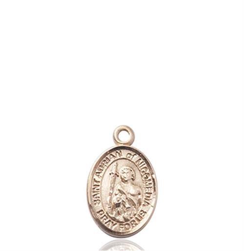 St. Adrian of Nicomedia Charm - 14 KT Gold (#85374)