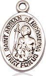 St. Adrian of Nicomedia Charm - Sterling Silver (#85375)