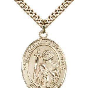 St. Adrian of Nicomedia Medal - 82814 Saint Medal