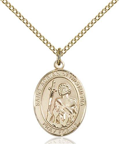 St. Adrian of Nicomedia Medal - 84186 Saint Medal