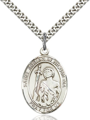 St. Adrian of Nicomedia Medal - 82816 Saint Medal