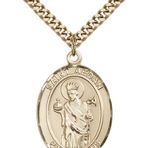 St. Aedan of Ferns Medal - 82658 Saint Medal