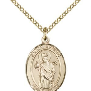 St. Aedan of Ferns Medal - 84030 Saint Medal