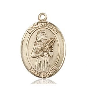 St. Agatha Medal - 81904 Saint Medal