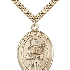 St. Agatha Medal - 81903 Saint Medal
