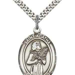 St. Agatha Medal - 81905 Saint Medal