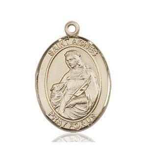 St. Agnes of Rome Medal - 82263 Saint Medal