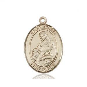 St. Agnes of Rome Medal - 83629 Saint Medal