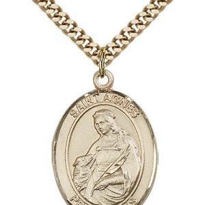 St. Agnes of Rome Medal - 82262 Saint Medal