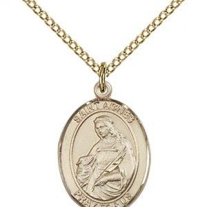 St. Agnes of Rome Medal - 83628 Saint Medal