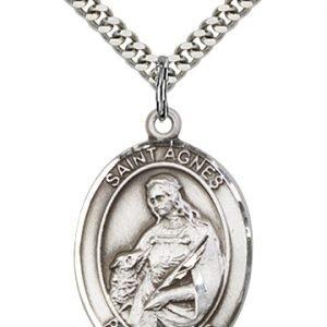 St. Agnes of Rome Medal - 82264 Saint Medal
