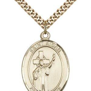St. Aidan of Lindesfarne Medal - 82895 Saint Medal
