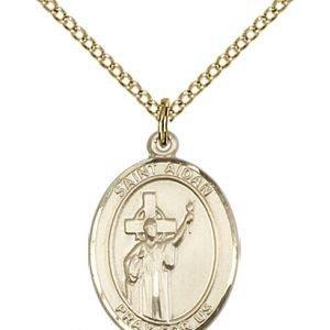 St. Aidan of Lindesfarne Medal - 84267 Saint Medal