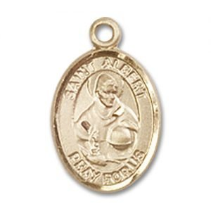 St. Albert the Great Charm - 14 Karat Gold Filled (#84455)