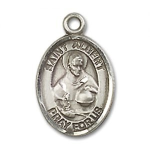 St. Albert the Great Charm - Sterling Silver (#19322)