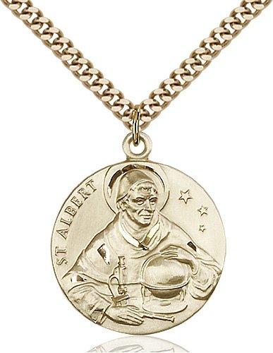 St. Albert the Great Medal - 81640 Saint Medal