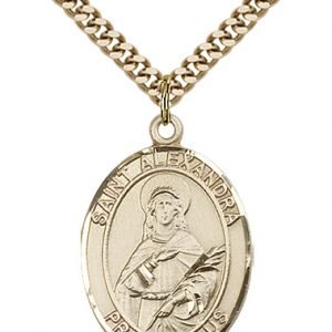 St. Alexandra Medal - 82484 Saint Medal