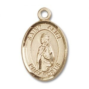 St. Alice Charm - 14 Karat Gold Filled (#85108)