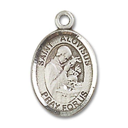 St. Aloysius Gonzaga Charm - Sterling Silver (#85071)