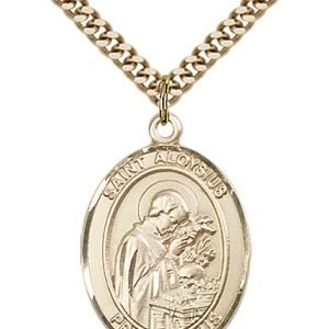 St. Aloysius Gonzaga Medal - 82508 Saint Medal
