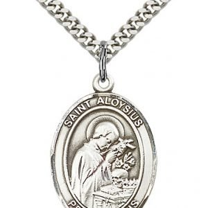 St. Aloysius Gonzaga Medal - 82510 Saint Medal