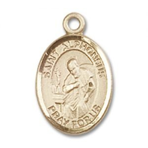 St. Alphonsus Charm - 14 Karat Gold Filled (#85060)