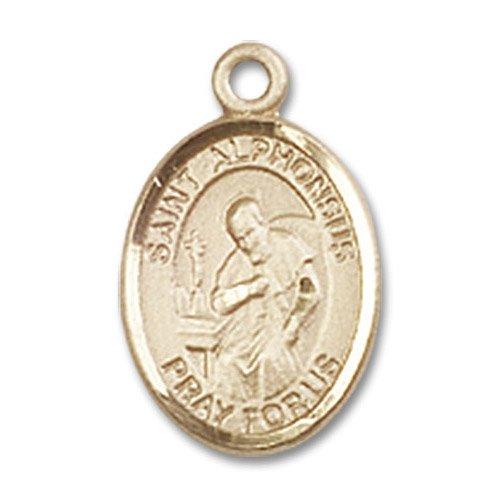 St. Alphonsus Charm - 14 Karat Gold Filled (#85060)