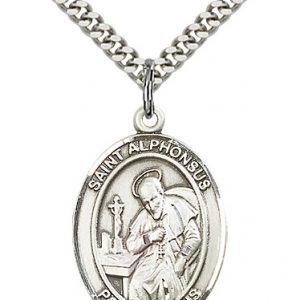 St. Alphonsus Medal - 82501 Saint Medal