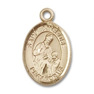 St. Ambrose Charm - 14 Karat Gold Filled (#84840)