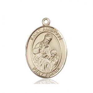 St. Ambrose Medal - 83650 Saint Medal