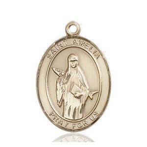 St. Amelia Medal - 82710 Saint Medal