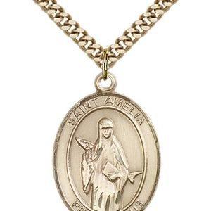 St. Amelia Medal - 82709 Saint Medal