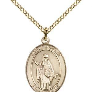 St. Amelia Medal - 84081 Saint Medal