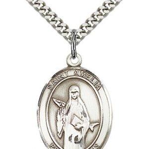St. Amelia Medal - 82711 Saint Medal